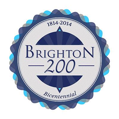 Town of Brighton Bicentennial logo